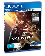Eve Valkyrie VR PSVR for Ps4 Sony PlayStation 4 Original Aus Version