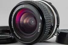 Excellent+++++ Nikon Ai Nikkor 24mm f/2.8 Manual Lens with Lens Hood from JAPAN