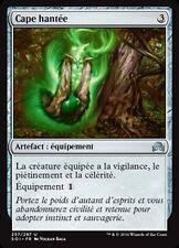 MTG Magic SOI - (x4) Haunted Cloak/Cape hantée, French/VF