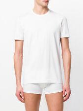 Dolce & Gabbana T-shirt Weiß Rundhalsausschnitt D&G NEU € 100 RRP slim fit M