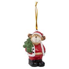 Clayre Eef Weihnachten Deko  Baumschmuck Rentier Christbaum 4*4*7 cm