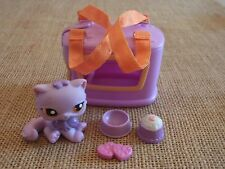 "Littlest Pet Shop ""Colors of the Rainbow"" Purple Persian Cat #1771 Accessory N30"