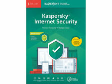 Kaspersky Internet Security 2019 - 1 PC/1 Jahr Update /2018 /2017 /Deutscher KEY