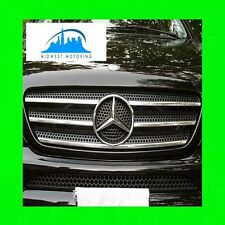 1998-2005 MERCEDES ML W163 CHROME TRIM FOR GRILL GRILLE W/5YR WRNTY