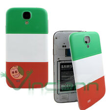 Cover copri batteria bandiera italiana per Samsung Galaxy S4 i9505 copribatteria