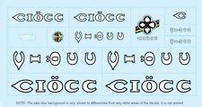 Ciöcc Bicycle Decals-Transfers-Stickers #2