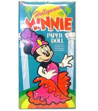 Vintage Hollywood Minnie Mouse Paper Doll set By Colorforms
