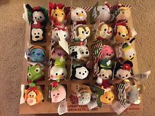 NIB 2016 Disney Store Tsum Tsum Christmas Advent Calendar 25 Unopened