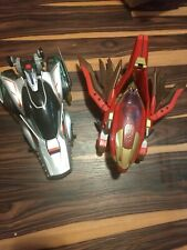 Power Rangers Wild Force Luxator And Lunar Animotor Vehicle Lot