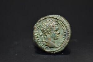 Caracalla. Trajanopolis, Thrace. AE  Assarion . 198-217 AD.N68A