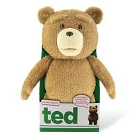 "NEW OFFICIAL TED MOVIE 12"" TALKING PLUSH SOFT TOY - R RATED - CREEPY / NO VOICE"