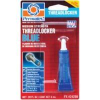Permatex Inc 24200-CAN Medium Strength Threadlocker Blue, 6ml Tube Carded