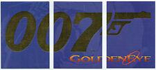 JAMES BOND GOLDENEYE Lot de 3 007 cartes