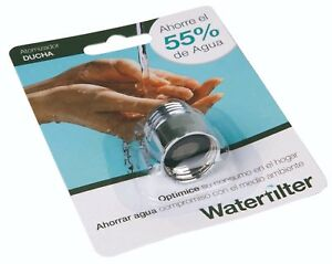 Shower Water Saving Device Universal Fitting Aerator Saves up to 55% of Water