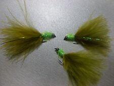 3 X Taglia 10 Fritz Mini esca Damigella leggero goldhead lento lavello speciale