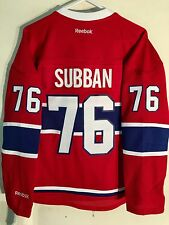 Reebok Women's Premier NHL Jersey Montreal Canadiens P.K. Subban Red sz M