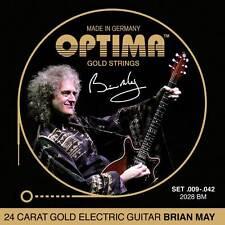 """Optima 2028 BM GOLD Strings """"Brian May"""" Set 09-042"""