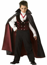 🖤  Gothic Vampire Elite Collection Boys' Halloween Costume Size 10 boys