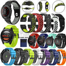 Silicone Strap Band Wrist For Garmin Fenix 22 26mm Watch 5 5X/S60/forerunner 935