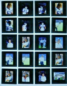 LCM9-4 NFL 1989 New York Giants Rams Bill Parcells Simms (31pc) ORIG 35mm Slides