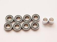 Team Associated T4.2RS Wheel bearing Set 8 Pack With Rear Spacers