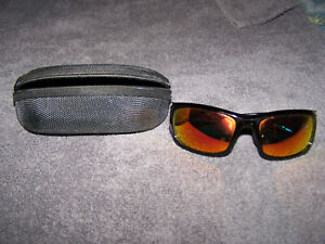 Performance Eyewear Fire Colored Mirror Shades in Jeff Gordon Frames With Case