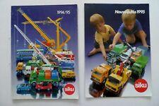 Catalogue SIKU 1994 /1995 + Nouveautés   - Katalog - Catalog -Catalogo