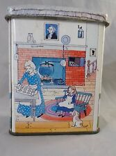 Vintage Nestle Toll House Collectible Mini Tin Made in England Guests Welcome