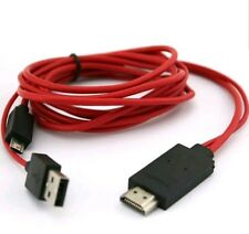 1M Micro USB MHL to HDMI Cable Adapter HDTV For Most Smart Phones