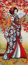 DIY Bead Embroidery Kit Needlepoint Beading Beadwork geisha