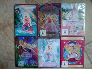 DVD SAMMLUNG BARBIE zugreifen, ideales Geschenk für Ostern oder Geburtstag!!