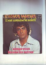 Disk 45 rpm Enrico macias: it is like the sun-love you some...
