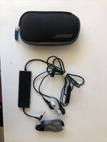 Bose QC20 QuietComfort 20 In-Ear Noise Cancelling Headphones, Black, Apple