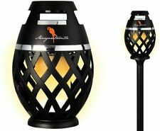 Margaritaville Sounds of Paradise Tiki Torch Bluetooth Light-Up Speakers 2 PACK