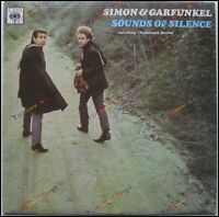 Simon & Garfunkel ‎– Sounds Of Silence [ Vinyl Greek Press 1968 VG+ Folk Rock ]