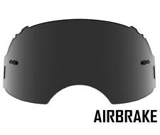 GOGGLE-SHOP REPLACEMENT SMOKE LENS to fit OAKLEY AIRBRAKE MOTOCROSS GOGGLES