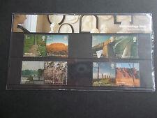 2005 World Heritage Sites Presentation Pack No 371 Cat £12 at Under Face Value