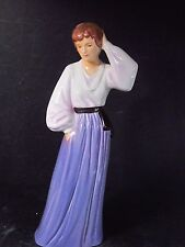 Goebel 1988 Federation of Women Series IV WOMAN PURPLE & WHITE  8""