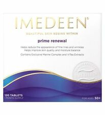 IMEDEEN PRIME RENEWAL Skincare 120 tablets, 1 month supply Exp.2019 NEW/BOX