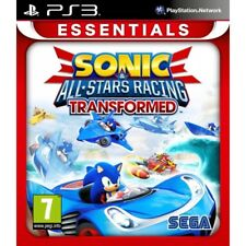 Ps3 Sonic & Und All-stars Racing Transformed SEGA Game for PlayStation 3