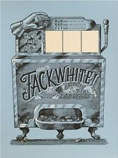 JACK WHITE POSTER BROOKLYN BOWL LAS VEGAS + COIN Matthew Jacobson SLOT MACHINE