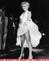 MARILYN MONROE 7YEAR ITCH SUBWAY LEGS 1xRARE5X7 PHOTO