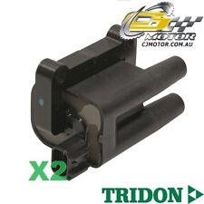 TRIDON IGNITION COIL x2 FOR Mitsubishi  Pajero NL-NM 08/97-11/02, V6, 3.5L 6G74