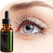 Cold Pressed Castor Oil for Eyelashes Eyebrows Hair Growth Body Care Oil 30ml UK