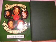 The House of Tudor by Alison Plowden 1976 Hardcover NEAR MINT FIRST ED UNREAD