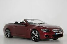 Kyosho BMW M6 E64 cabrio Indianapolis Red 80430417423 1:18 Dealer Edition