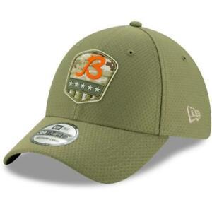 NFL Chicago Bears Salute to Service Hat, New ERA 39Thirty, Size: Medium/Large
