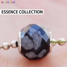 925 Sterling Silver Essence Collection BELIEF Charm Bead Fit European Bracelet