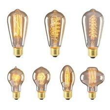 220V-240V Edison Bulb E27 Retro Lamp Vintage Light Bulb Incande Christmas G0
