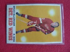 VINTAGE HOCKEY CARD O PEE CHE 1970-71  BRUCE MACGREGOR DETROIT RED WINGS  EXC